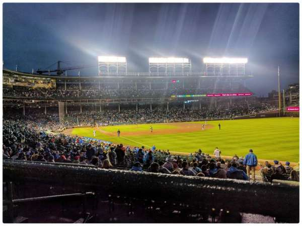 Wrigley Field, section: 240, row: 4, seat: 6
