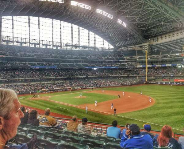 Miller Park, section: 210, row: 7, seat: 18