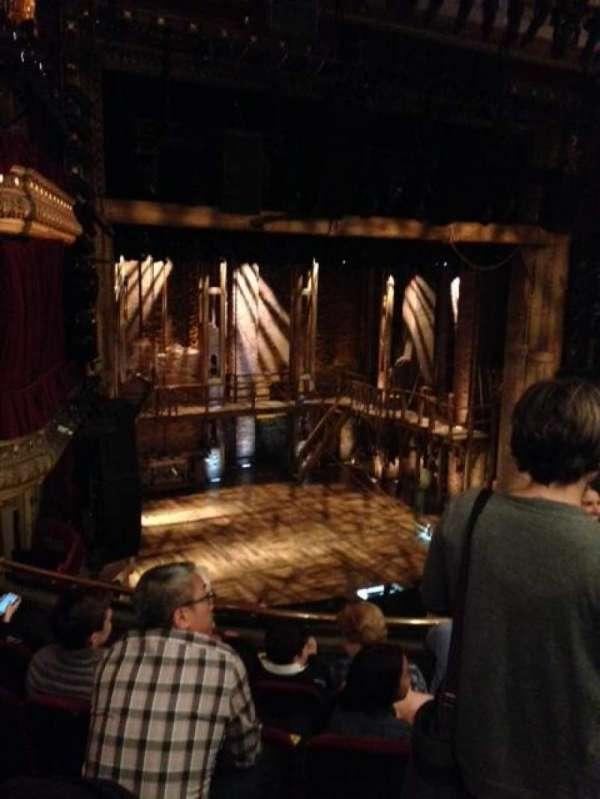 CIBC Theatre, section: Mezzanine L, row: E, seat: 9