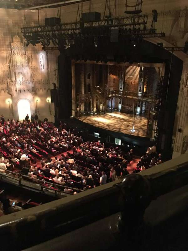 Orpheum Theatre (San Francisco), section: Balcony R, row: A, seat: 22