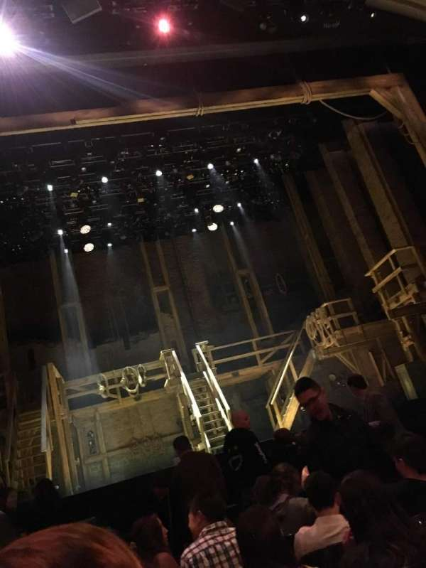 Orpheum Theatre (San Francisco), section: Orchestra LC, row: G, seat: 105