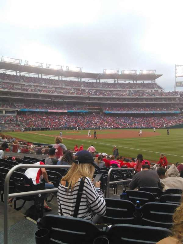Nationals Park, section: 135, row: T, seat: 14