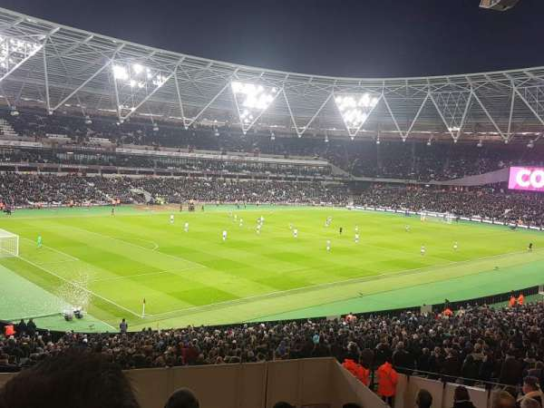 London Stadium, section: 230, row: 38, seat: 625