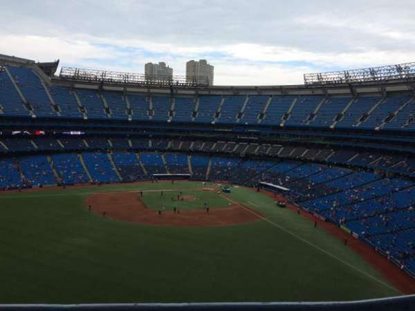 Rogers Centre, section: 543L, row: 1, seat: 102