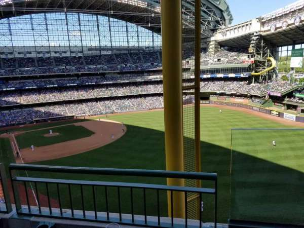 Miller Park, section: 405, row: 2, seat: 18