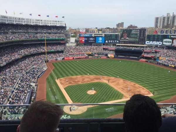 Yankee Stadium, section: 419, row: 2, seat: 9