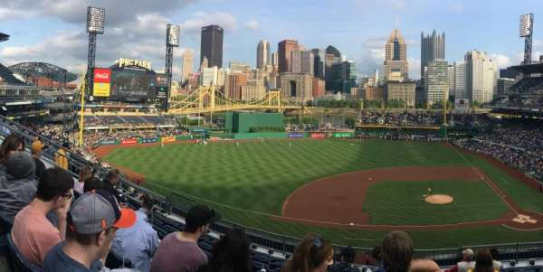 PNC Park, section: 222, row: H, seat: 3,4,5,6