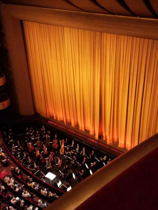 David H. Koch Theater, section: 5th ring, row: AA, seat: 12