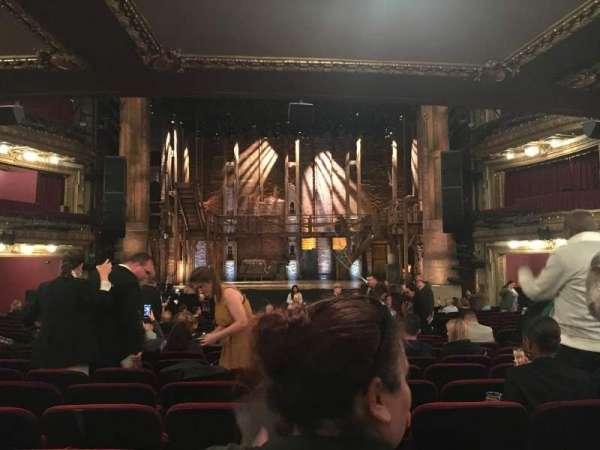 CIBC Theatre, section: orchestra c, row: w, seat: 112