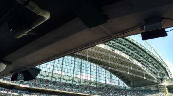 Miller Park, section: 111, row: 26, seat: 7