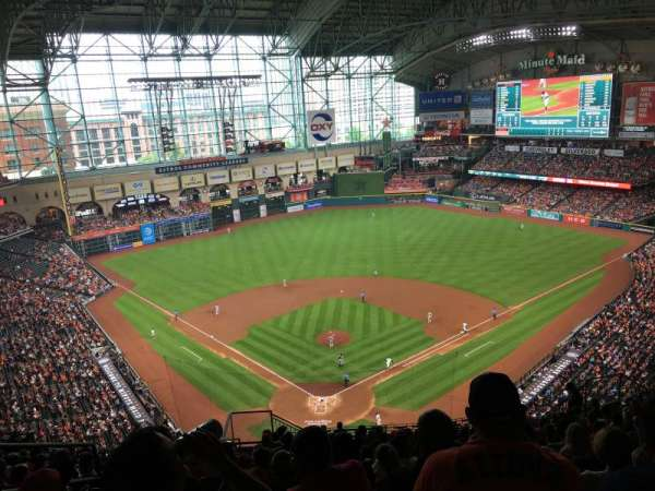 Minute Maid Park, section: 420, row: 15, seat: 5