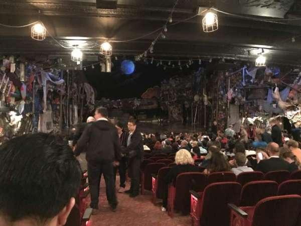 Neil Simon Theatre, section: Orchestra, row: U, seat: 1