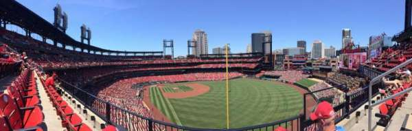 Busch Stadium, section: 331, row: 2, seat: 16