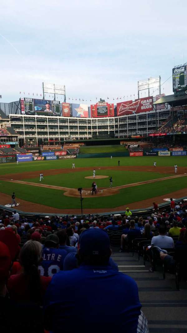 Globe Life Park in Arlington, section: 26, row: 26, seat: 12
