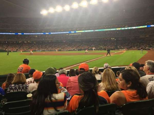 Minute Maid Park, section: 106, row: 7, seat: 8