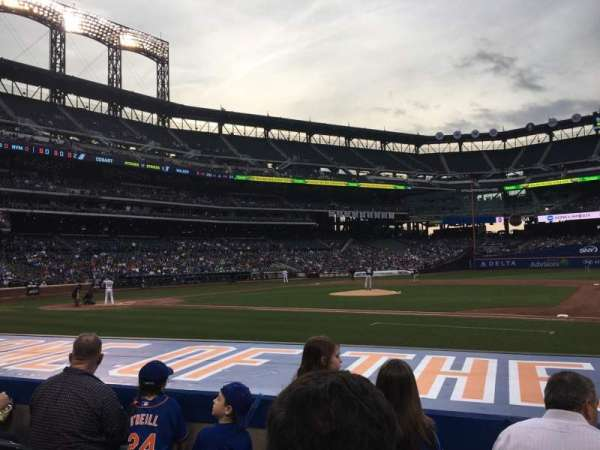 Citi Field, section: 113, row: 4, seat: 14