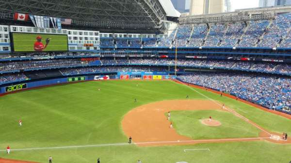 Rogers Centre, section: 530R