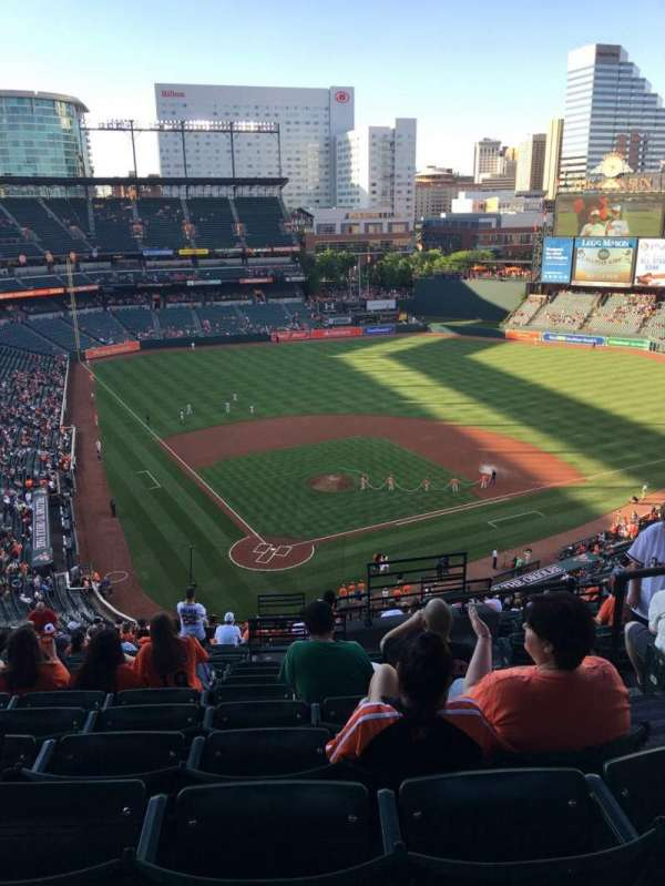 Oriole Park at Camden Yards, section: 332, row: 21, seat: 3
