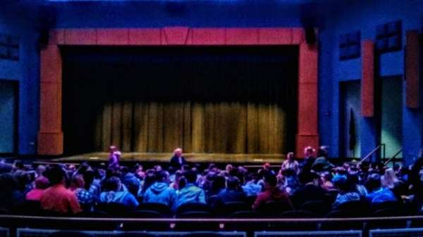 Seifert Performing Arts Center, section: Mezzenine Right, row: A, seat: 16