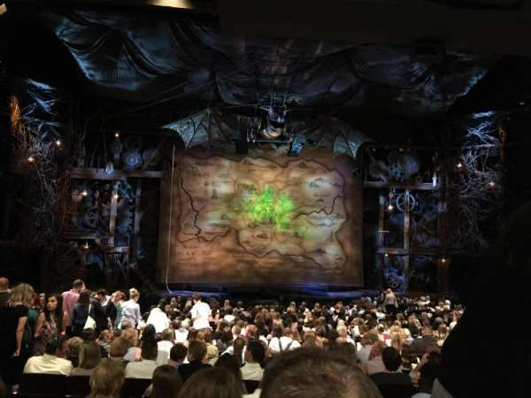 Gershwin Theatre, section: Orchestra c, row: U, seat: 104