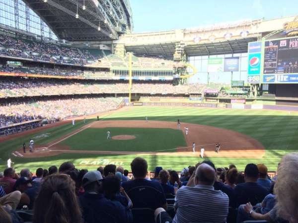 Miller Park, section: 213, row: 213 , seat: 7