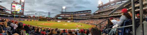 Citizens Bank Park, section: 129, row: 24, seat: 8