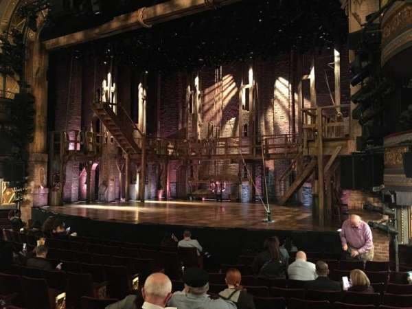Richard Rodgers Theatre, section: Orchestra L, row: L, seat: 16