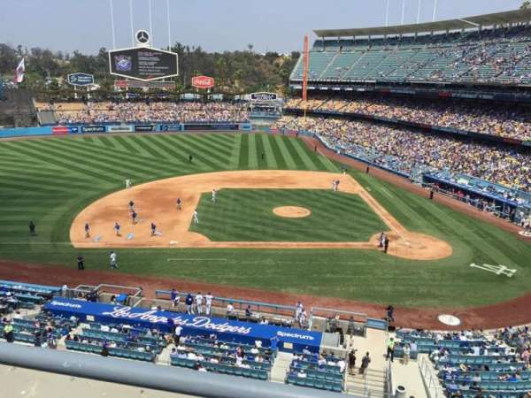 Dodger Stadium, section: 15RS, row: A, seat: 9