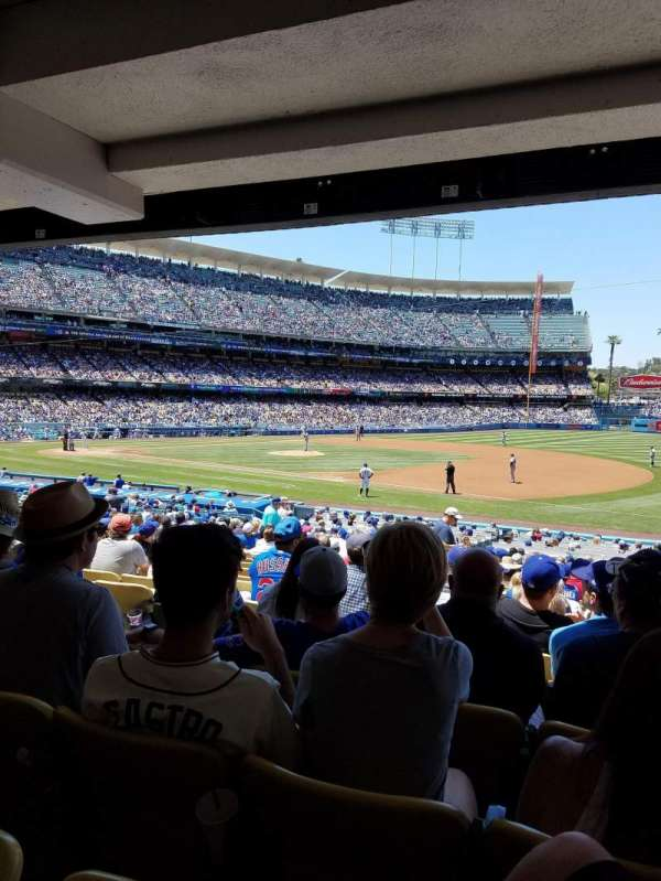 Dodger Stadium, section: 30FD, row: W, seat: 5