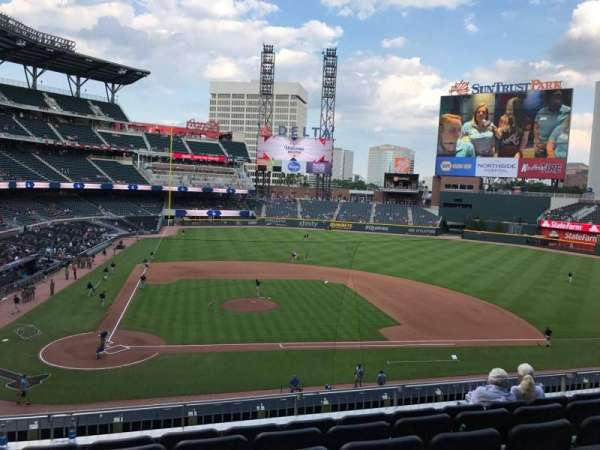 SunTrust Park, section: 222, row: 6, seat: 14
