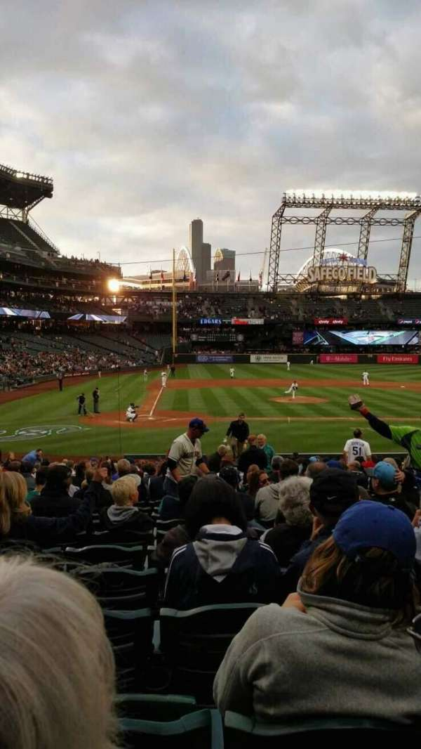 Safeco Field, section: 125, row: 25, seat: 5