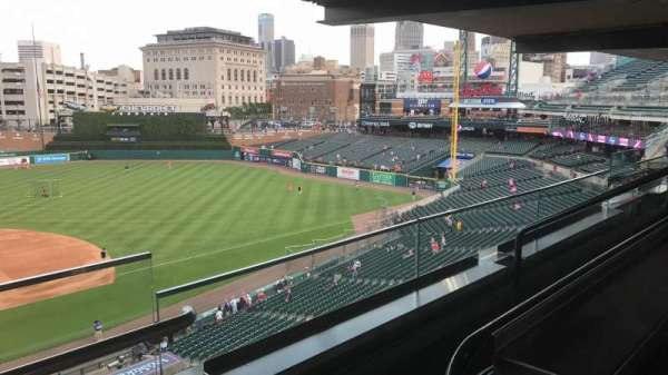 COMERICA PARK, section: SUITE 204, row: A, seat: 1