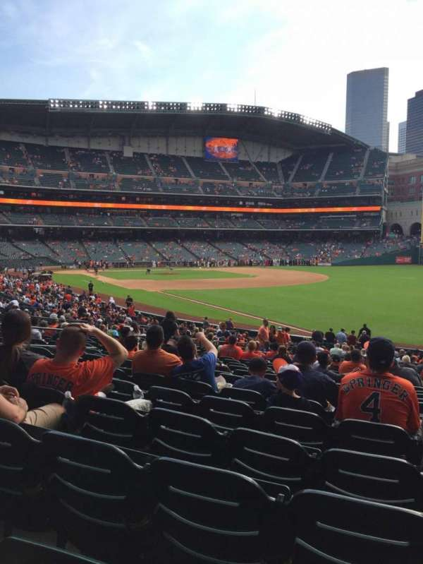Minute Maid Park, section: 133, row: 33, seat: 13