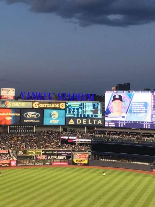 Yankee Stadium, section: 318, row: 6, seat: 3
