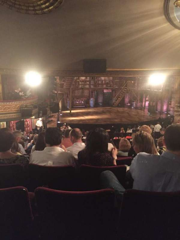 Richard Rodgers Theatre, section: Orchestra L, row: V , seat: 23