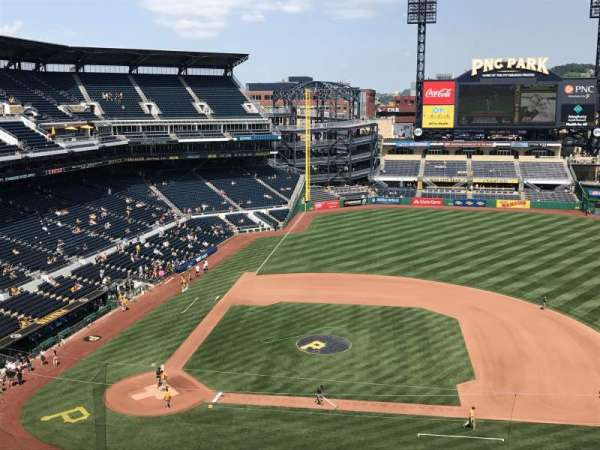 PNC Park, section: 310, row: F, seat: 14