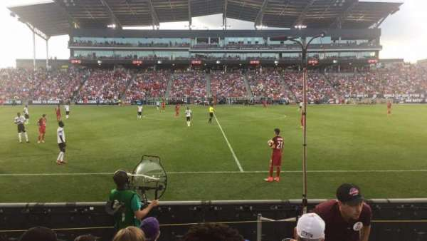 Dick's Sporting Goods Park, section: 107, row: 5, seat: 2