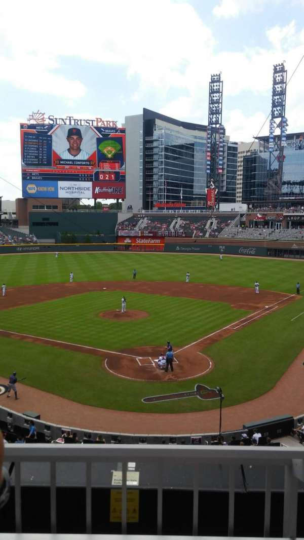 SunTrust Park, section: 227, row: 2, seat: 6