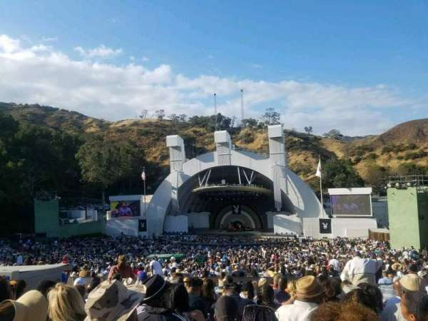 Hollywood Bowl, section: G, row: 12, seat: 24