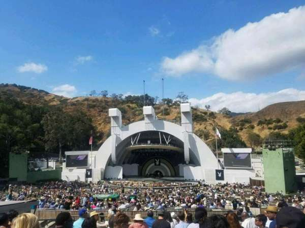 Hollywood Bowl, section: G2, row: 12, seat: 24