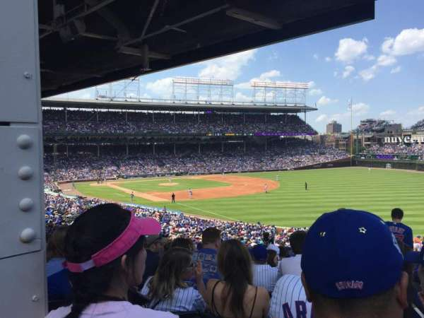 Wrigley Field, section: 240, row: 21, seat: 106