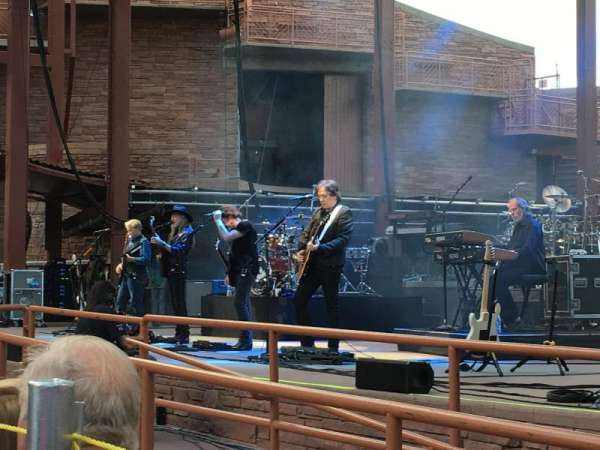 Red Rocks Amphitheatre, row: 2, seat: 13