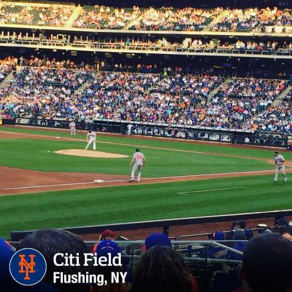 Citi Field, section: 125, row: 16, seat: 15