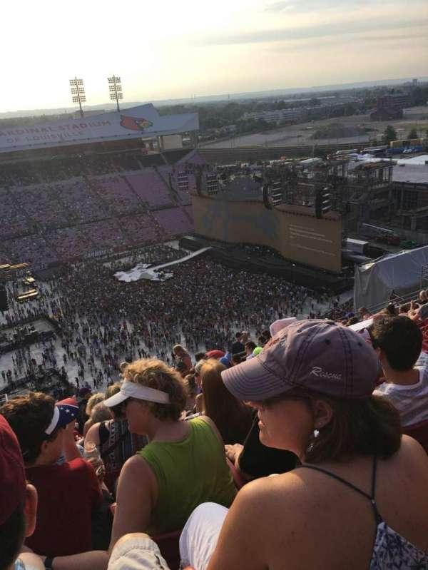 Cardinal Stadium, section: 9, row: U, seat: 26