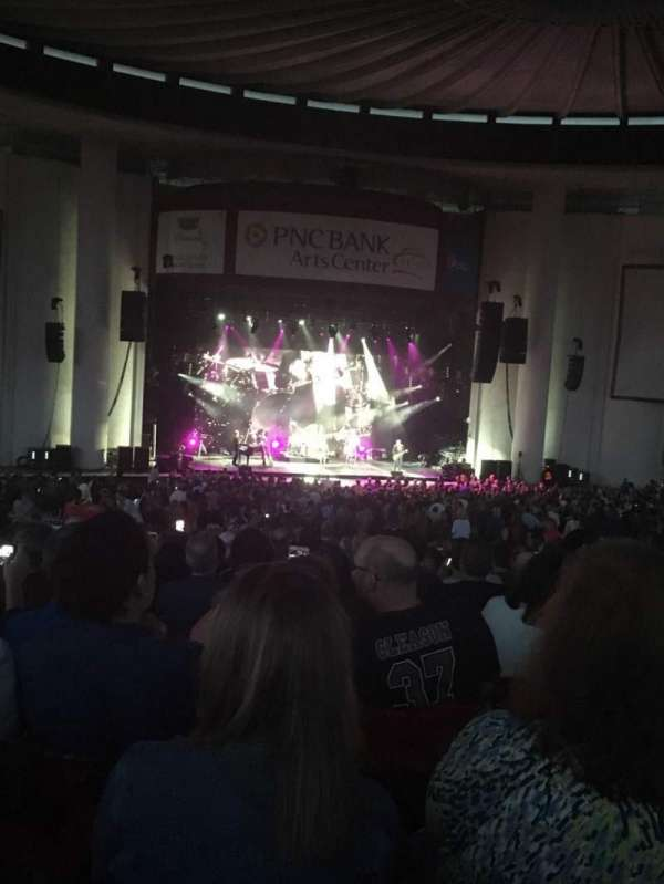 PNC Bank Arts Center, section: 303, row: Q, seat: 135