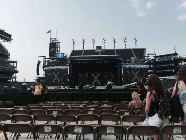 Lincoln Financial Field, section: Plataforma F10, row: F, seat: 9