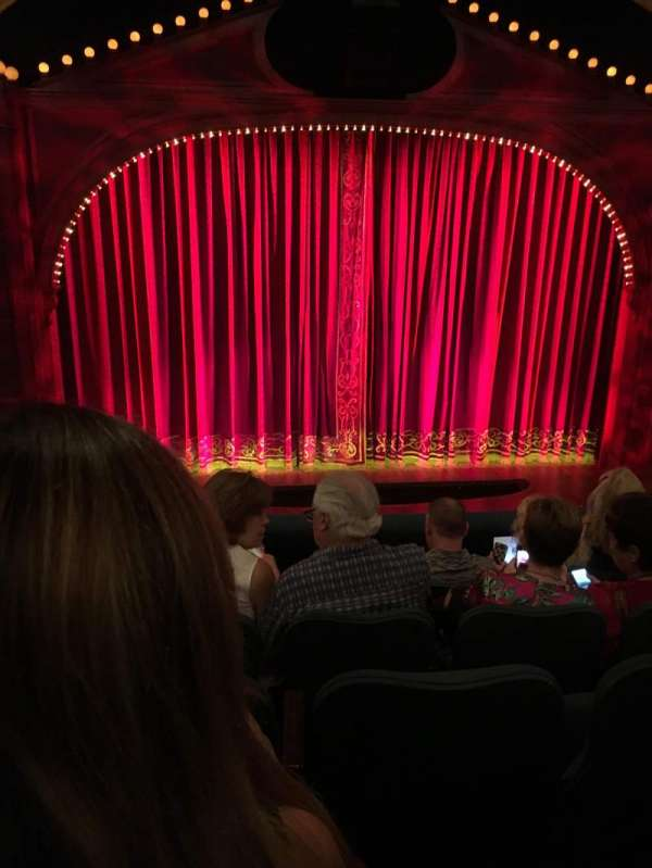 Shubert Theatre, section: Mezzanine, row: E, seat: 112