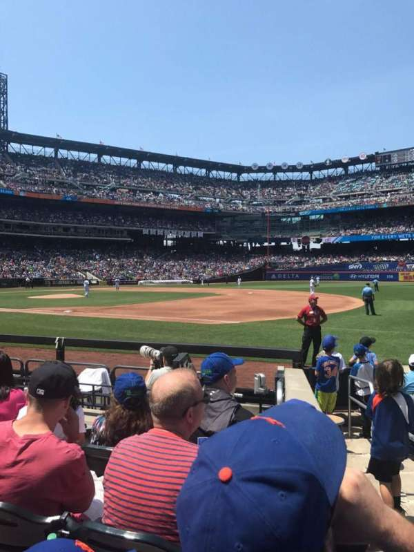 Citi Field, section: 111, row: 4, seat: 12