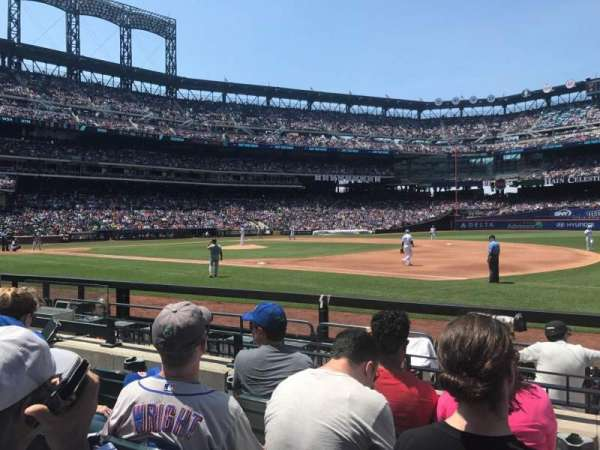 Citi Field, section: 111, row: 4, seat: 109