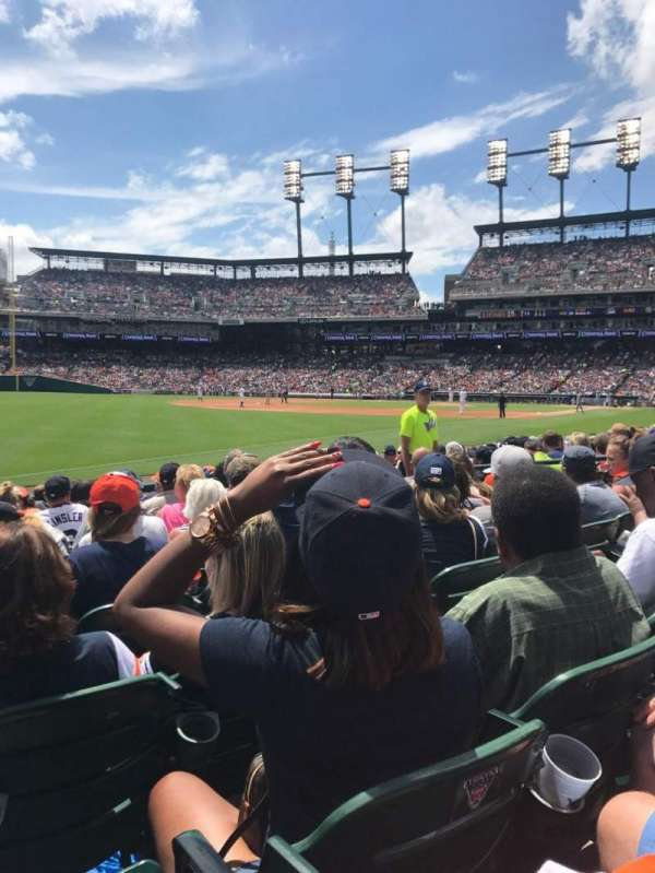 Comerica Park, section: 140, row: 11, seat: 11